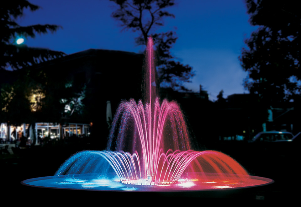 B c d series fontana for Underwater luminaire for swimming pool