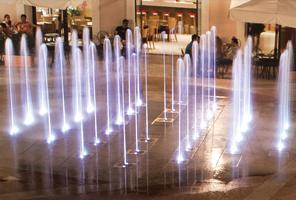 Dry Deck Fountains Fontana